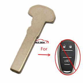 For Alfa emergency key blade