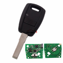 For Fiat Fir 114 and Punto 188 1 Button remote key with 434mhz in black color, programmed by Zedfull with SIP22 blade