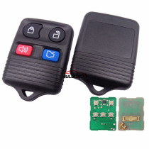For Ford 4 button Remote key with 433MHZ