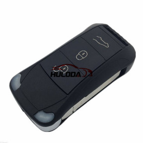 For Porshe Cayenne 3 button flip remote  key blank