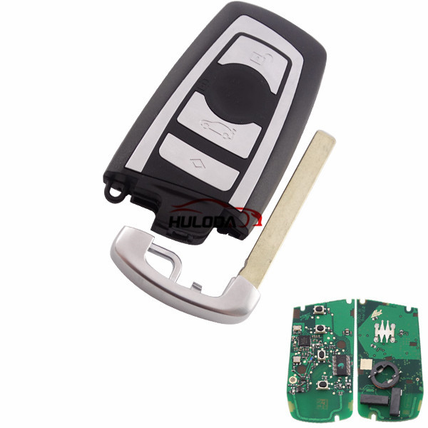 After Market For BMW 4 button keyless remote key with 433mhz