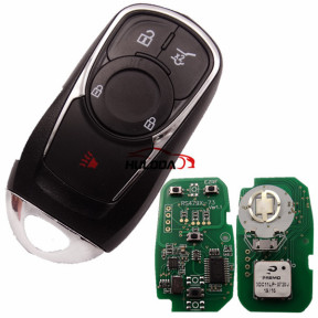 For Buick Keyless Smart 3+1 button remote key with PCF7952E chip- 314.9mhz ASK model