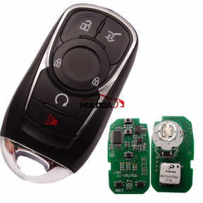 For Buick Keyless Smart 4+1 button remote key with PCF7952E chip- 314.9mhz ASK model