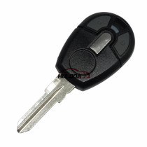 For fiat 2 button  remote key blank with Toy47 blade(blade part can be separated)