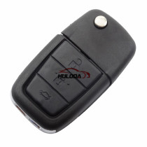 For GM 3+1 button flip remote key blank