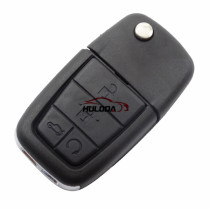 For GM Pontiac 4+1 button flip remote key blank