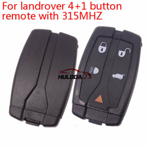 For Landrover freelander 4+1 button remote with 315MHZ chip:PCF7945/7953