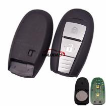 For Suzuki original 2 button remote key with 434mhz PCF7953(HITAG3)chip  CMIIT ID:2014DJ3916 CCAK14LP1410T6