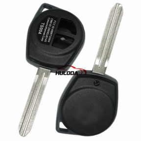For Suzuki Swift 2 button remote key blank with Toy43 blade  with logo