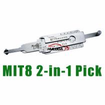 Lishi Mitsubishi,chrylser,chevrolet MIT8 lock pick and decoder  together  2 in 1 used for Mitsubishi,chrylser,chevrolet