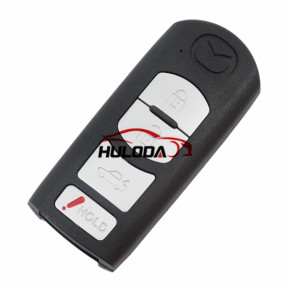 For Mazda 3+1 button remote key blank