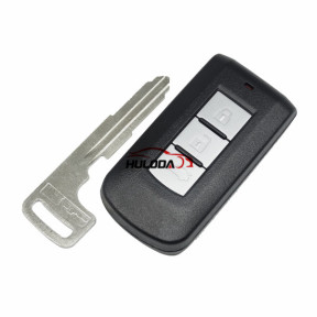For Mitsubishi 3 button remote key blank with emergency key blade