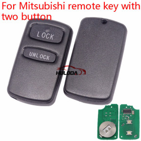 For Mitsubishi remote  key with two button