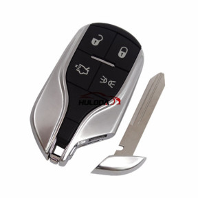 For Maserati 4 button remote key shell  without logo