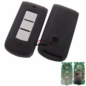 For Mitsubishi 3 button keyless smart remote key with 434mhz & PCF7952 chip CBD-644M-KEY-E 3G-2  CMII ID:2012DJ3230 743B CE1731 For Mitsubishi Outlander 09.01.2012-25.08.2015