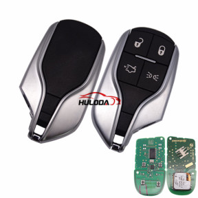 For Maserati original 4 button remote key with 433mhz with PCF7945/7953 chip no blade A2-C739-3510-1-00/5923336AG CMIIT ID:2013DJ7188 FCCID:M3N-7393490 IC:7812A-7393490