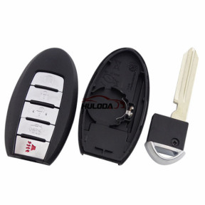 For nissan 5 button  remote key blank for new model