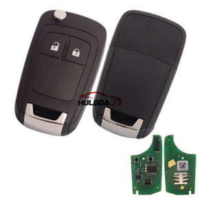 For Opel original 2 button remote key with 434mhz  G4-AM433TX 13271922 000274 PCF 7941 chip  After market remote