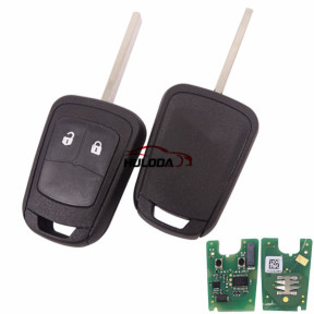 For Opel original 2 button remote key with 433mhz chip: 7941A 6225AY52901 FCCID: ZY13246338G PCB is original , shell is OEM. G4 model