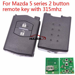 For Mazda 5 Series 2 button remote control with 433Mhz
