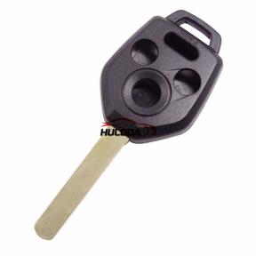 For Subaru 3+1 button remote key blank