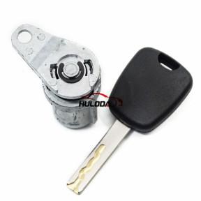 Citron 407 door lock with HU83 blade