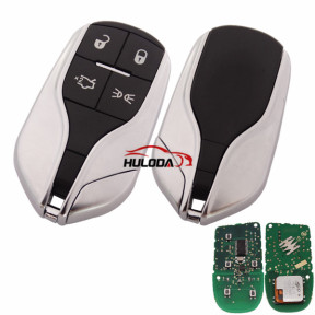 For Maserati 4 button remote key with 433mhz PCF7945/7953(HITAG2)