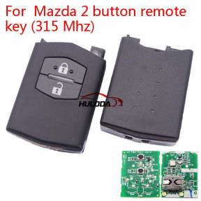 For Mazda 2 Series 2 button remote control with 315Mhz