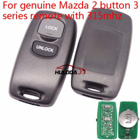 For Mazda 3 series 2 button remote key with 315mhz