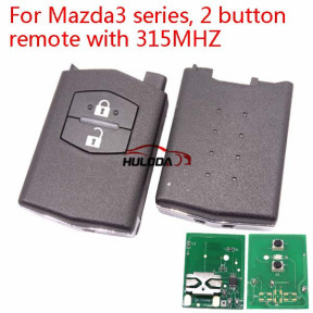 For Mazda 3 Series 2 button remote control with 433Mhz