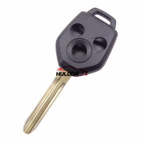 For Subaru 3 button remote key blank with Toy43 Blade