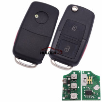 For VW remote key 2+1 button with 315mhz F1-315-B5-2+1
