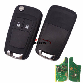 For Vauxhall original 2 button remote key with 434mhz  5WK50079 95507070 chip GM(HITA G2) 7937E chip