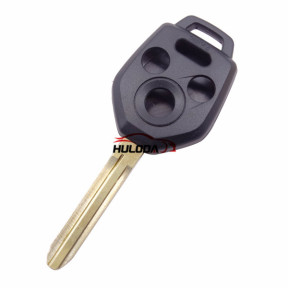 For Subaru 3+1 button remote key blank with Toy43 Blade