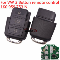 For VW 3 Button remote control 1J0 959 753 N