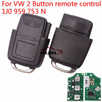 For VW 2 Button remote control 1J0 959 753 N