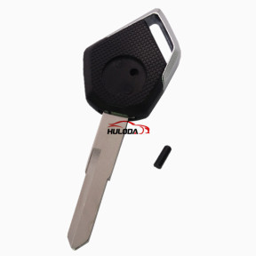 For KAWASAKI motorcycle key blank with right blade (black)