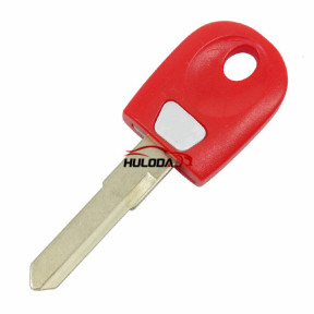 Ducati motor  key blank (red color)