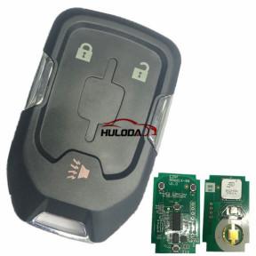 For GMC 2+1 button remote key with 315mhz, for GMC Yukon 2015-2018  GMC Sierra 2015-2016       FCC ID: HYQ1AA IC:1551A-AA CMIT ID: 2013DJ6723 PN:  13580804 E, 13508280