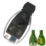 VVDI BE Key pro full key for Benz 3 button/4button remote  key with 315Mhz, The frequency can be changed to 433mhz  Note: Default frequency is 315Mhz, Remove PCB FRE resistor change to 433.92Mhz. Also support set frequency by VVDI MB TOOL software.