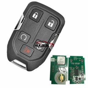 For GMC 4+1 button remote key with 315mhz for           GMC Yukon 2015-2018  GMC Sierra 2015-2016       FCC ID: HYQ1AA IC:1551A-AA CMIT ID: 2013DJ6723 PN:  13580804 E, 13508280