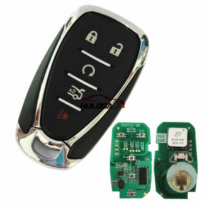 For Chevrolet 4+1 button remote key with HITAG2 46 chip-434mhz  FCCID:HYQ4EA             IC:1551a-4EA PN:13590048,13589533, 13508769,13584497