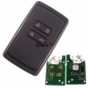 keyless card for Renault Megane4 with 4button PCF7953M chip -434mhz CMIIT ID:2014DJ3371