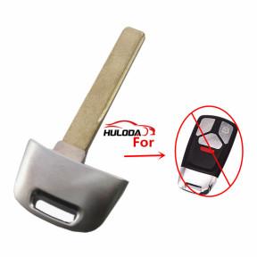 For Audi emergency Key blade used for Q5 Q7 keyless remote  key