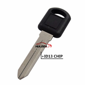 For GM Buick Regal, PK3 transponder key (Without Logo)  with ID13 chip
