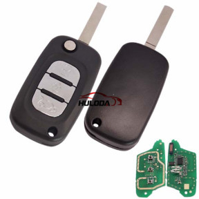 For Renault 3 button remote key PCF7961(HITAG2) ID46 Chip 434 mhz
