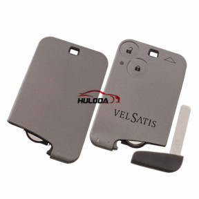 For Renault for Velsatis 2 button remote key with PCF7947(HITAG2) with 434mhz
