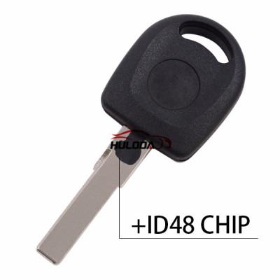 Chip ID48 de transpondedor clave para VW HU66 Blade