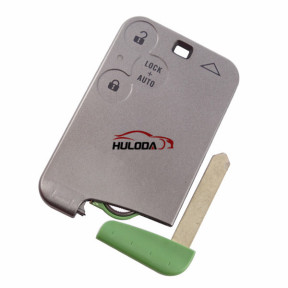 For Renault Laguna &Velsatis & Espace 3 button remote key with PCF7947 chip with logo