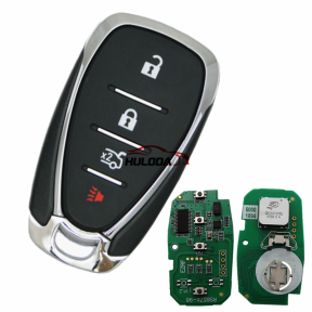 For Chevrolet 3+1 button remote key with HITAG2 46 chip-434mhz